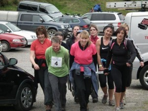 West Mercia Ladies return to base