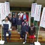 4 Pro-Am Players at the Oswestry Games - Minigolf Training & Pro-Am Cae Glas Park 140712