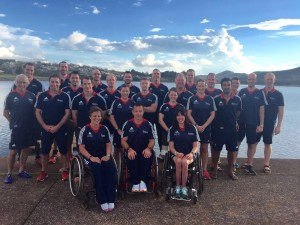 The Olympic and Paralympic Squad together in Brazil