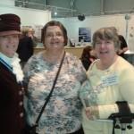 High Sherif Christine Holmes, Jenny Dickeson, Ruby Hartshorn