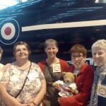 Ruby Hartshorn, Jenny Dickerson, Ann Shaw, Jess and Jo