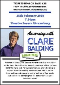 Clare Baldwin Severn Theatre