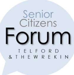Telford & The Wrekin Senior Citizens Forum logo
