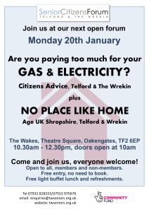 Telford Seniors Open Forum_20.01.20