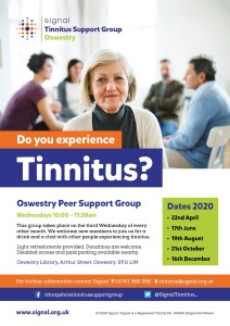 Oswestry Tinnitus Support Oswestry