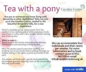 Tea with a pony