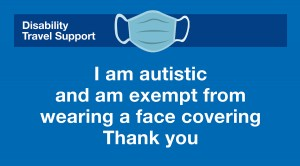 Autism re face coverings