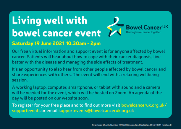 Live Well with Bowel Cancer