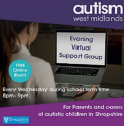 Evening Virtual Support Group For Shropshire Parents