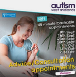 Online Autism Advice and Consultation Sessions – Shropshire County